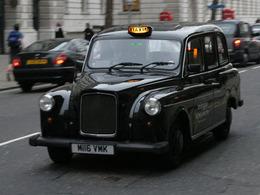 Les taxis londoniens roulent pour l'huile de friture
