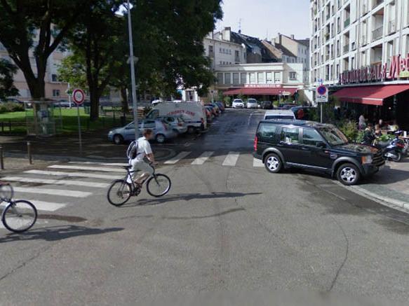 ville de strasbourg la rue d austerlitz r ouverte aux cyclistes. Black Bedroom Furniture Sets. Home Design Ideas