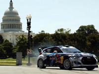 Global Rally Cross : Rhys Millen drifte dans Washington en Hyundai Veloster