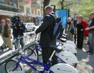 Stockholm : le parc de vélos en libre service doublé en 2008 !