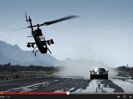 Vidéo - Un hélicoptère de combat s'écrase durant le tournage d'une séquence de Top Gear