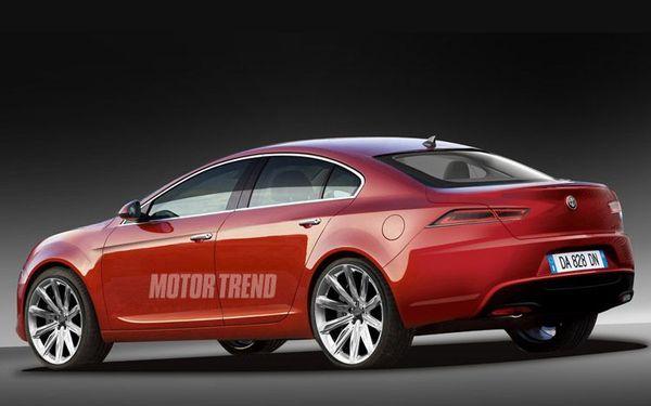 Future Alfa Romeo Guilia: comme ça?