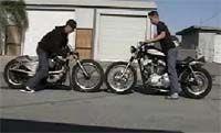 Vidéo moto: pneu à pneu