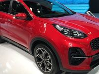 Kia Sportage restylée : micro hybride - Vidéo en direct du mondial de l'auto 2018
