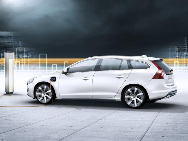 La Volvo V60 Plug-in Hybrid sera commercialisée en 2012