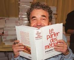 Quand Pierre Perret   présente l'argot auto