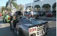 Vidéo : Cruising a Miami en SSC Ultimate Aero et LP640