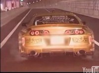 Vidéo : Virée dans la Toyota Supra Top Secret V12..