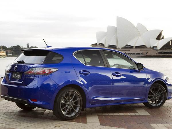 Sydney 2010 : Lexus CT200h F, hybride fort en gueule