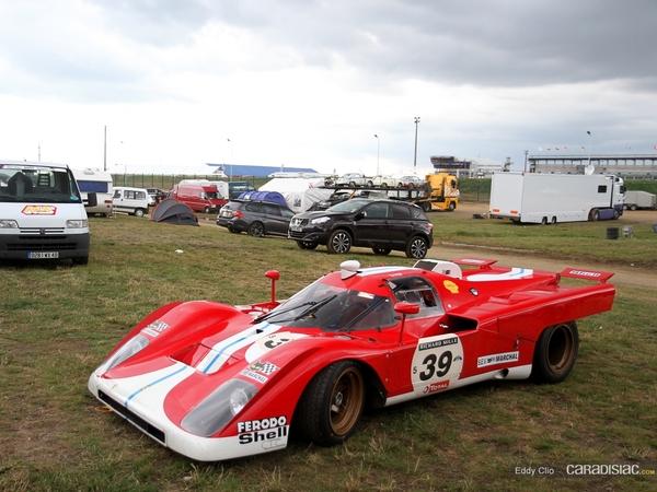 Photos du jour : Ferrari 512S (Le Mans Classic)