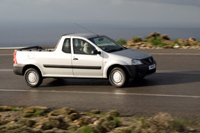 Dacia Logan pick-up: les Roumains, premiers servis