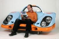 Un fauteuil Porsche 917 : génial !!!