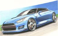 Infiniti GT-R ou la Nissan GT-R version 4 portes