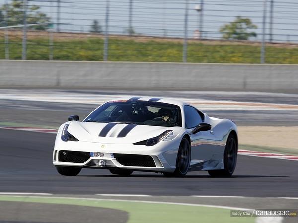 Photos du jour : Ferrari 458 Speciale (GT Days)