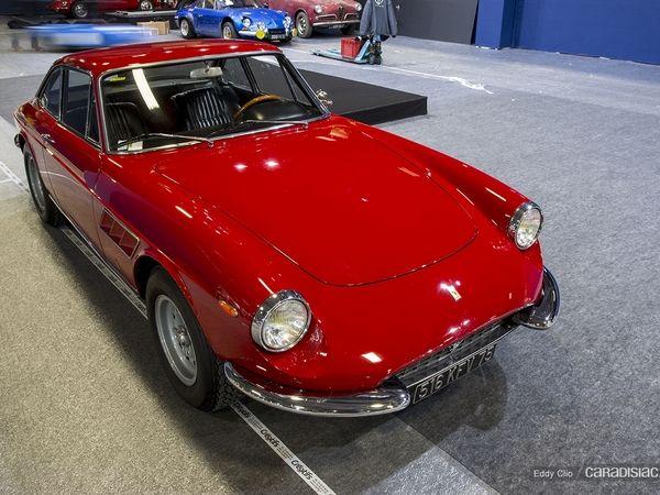 Photos du jour : Ferrari 330 (Rétromobile)