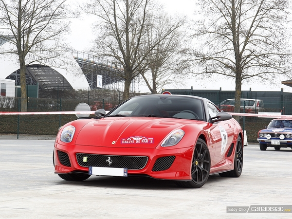 Photos du jour : Ferrari 599 GTO (Rallye de Paris)