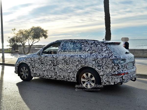 Le futur Audi Q7 va inaugurer le e-boost