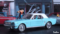 Miniature : 1/43ème - FORD Mustang cabriolet