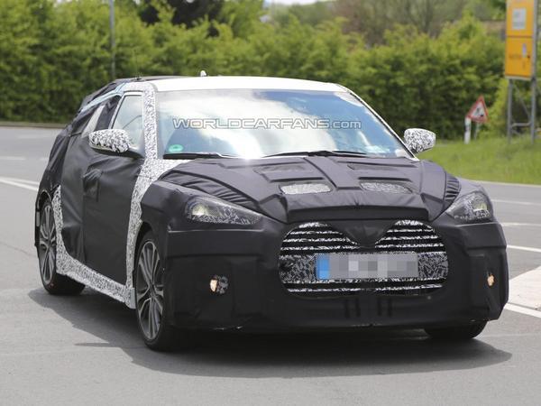 Surprise en vidéo : le Hyundai Veloster Turbo s'entraine sur la Nordschleife