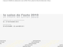 (Minuit chicanes) Le salon de l'auto 2010 se poursuit à Nice en novembre...