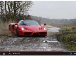 Insolite : une Ferrari Enzo menée façon WRC
