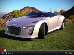L'e-tron Spyder d'Audi se dévoile en vidéo