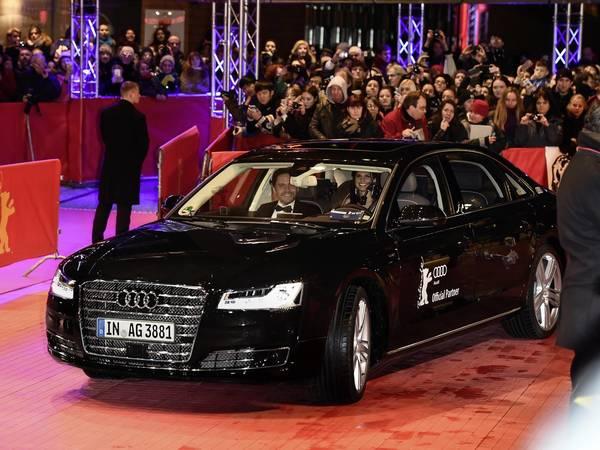 Une Audi A8 autonome pour les acteurs du Festival Berlinale