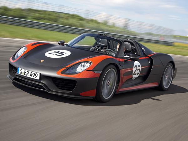 Les Porsche 918 Spyder ne sont pas toutes vendues