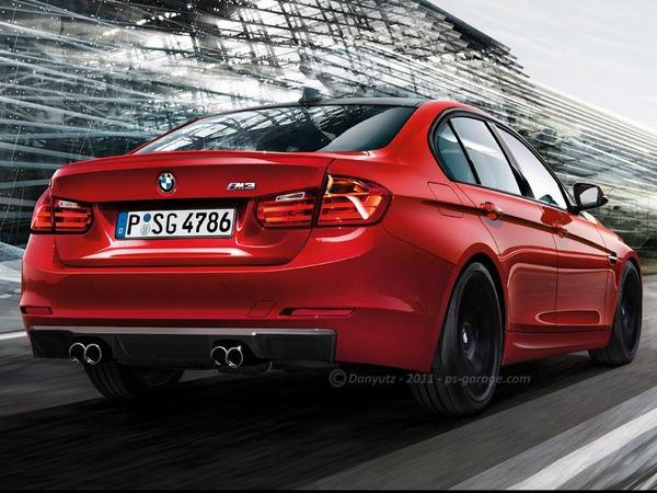 La future BMW M3 comme ça ?