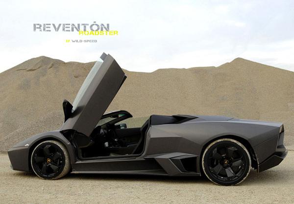 Lamborghini Reventon Roadster: à Francfort?