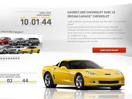 Concours Dream Garage par Chevrolet : gagnez une voiture (voire une Corvette)