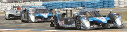 Deux Peugeot 908 HDI FAP à Petit Le Mans!