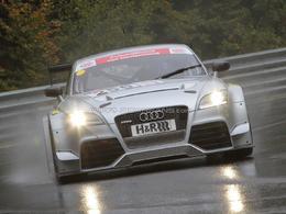 L'Audi TT RS a fait ses débuts en compétition