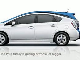 Salon de Détroit 2011 : le nouveau monospace Toyota Prius hybride fera sensation