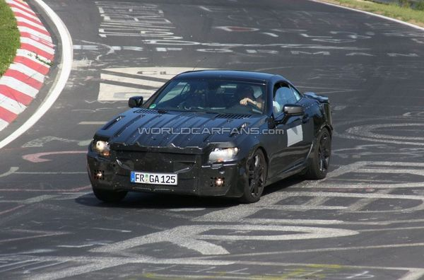 [Vidéo] Le futur Mercedes SLK sur le Nürburgring