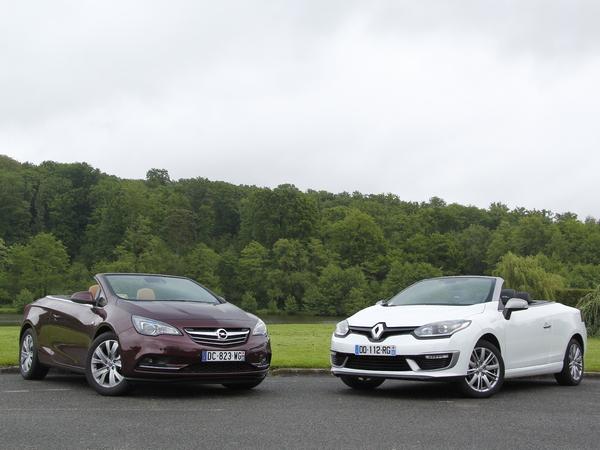 Comparatif vidéo - Opel Cascada vs Renault Mégane CC : recette de saison