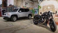 Harley-Davidson et Jeep: une nouvelle fois partenaires