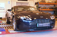 "Aston Martin V8 Vantage ""by Paramount Performance"": +55 ch/-15 kg"