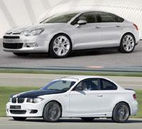 """BMW Série 1, Citroën C5: """"même combat"""" en 4 cylindres turbo?"""
