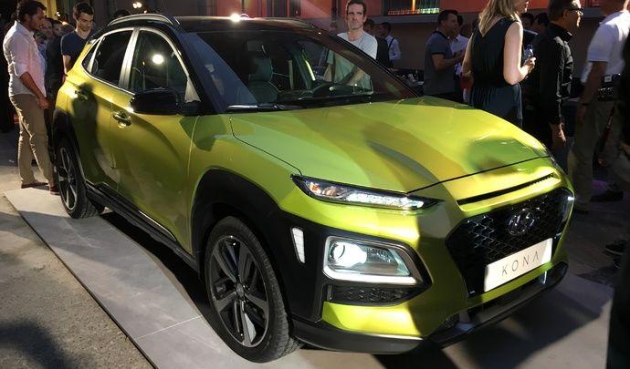 Hyundai Kona : les premières images de la présentation en live