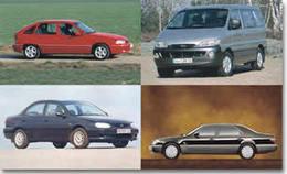 Les constructeurs   coréens : Daewoo,   Hyundai, Kia, Sang   Yong