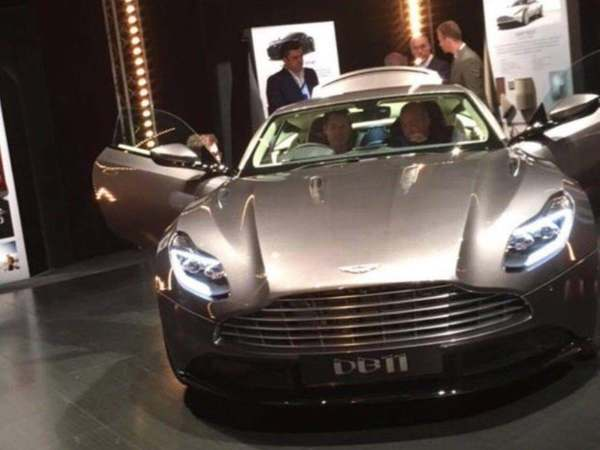 Scoop : voici le visage de l'Aston Martin DB11