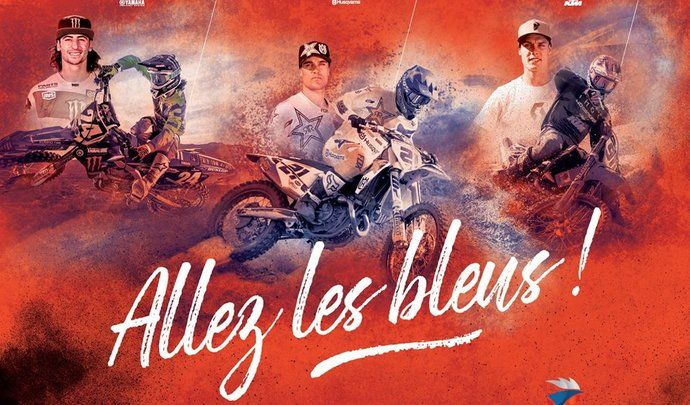 Motocross des Nations : sur la route des bleus [vidéo]