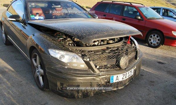 Spyshot : Mercedes Classe S Coupé AMG