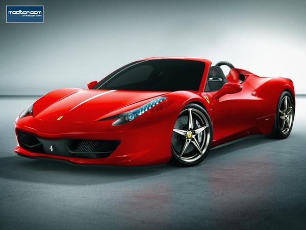 Ferrari 458 Italia Spyder : comme ça?