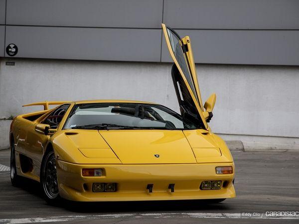 Photos du jour : Lamborghini Diablo (Rétromobile)