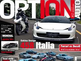 [vidéos] Option Auto essaie la Ferrari 458 Oakley Design