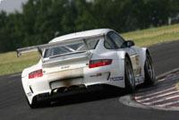 Le team de Bobby Rahal en ALMS avec Porsche