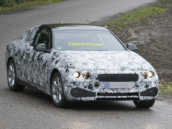 Surprise : la future BMW Série 4 en promenade