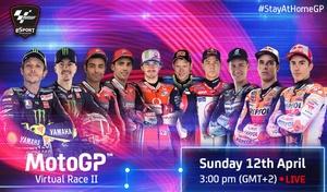 MotoGP: Bagnaia remporte la 2ème course virtuelle